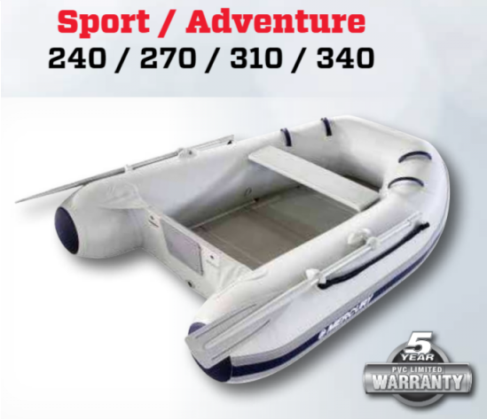 Mercury Inflatable Boat + Deans Marine
